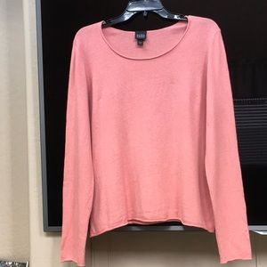 Eileen Fisher Silk and Cashmere Sweater.